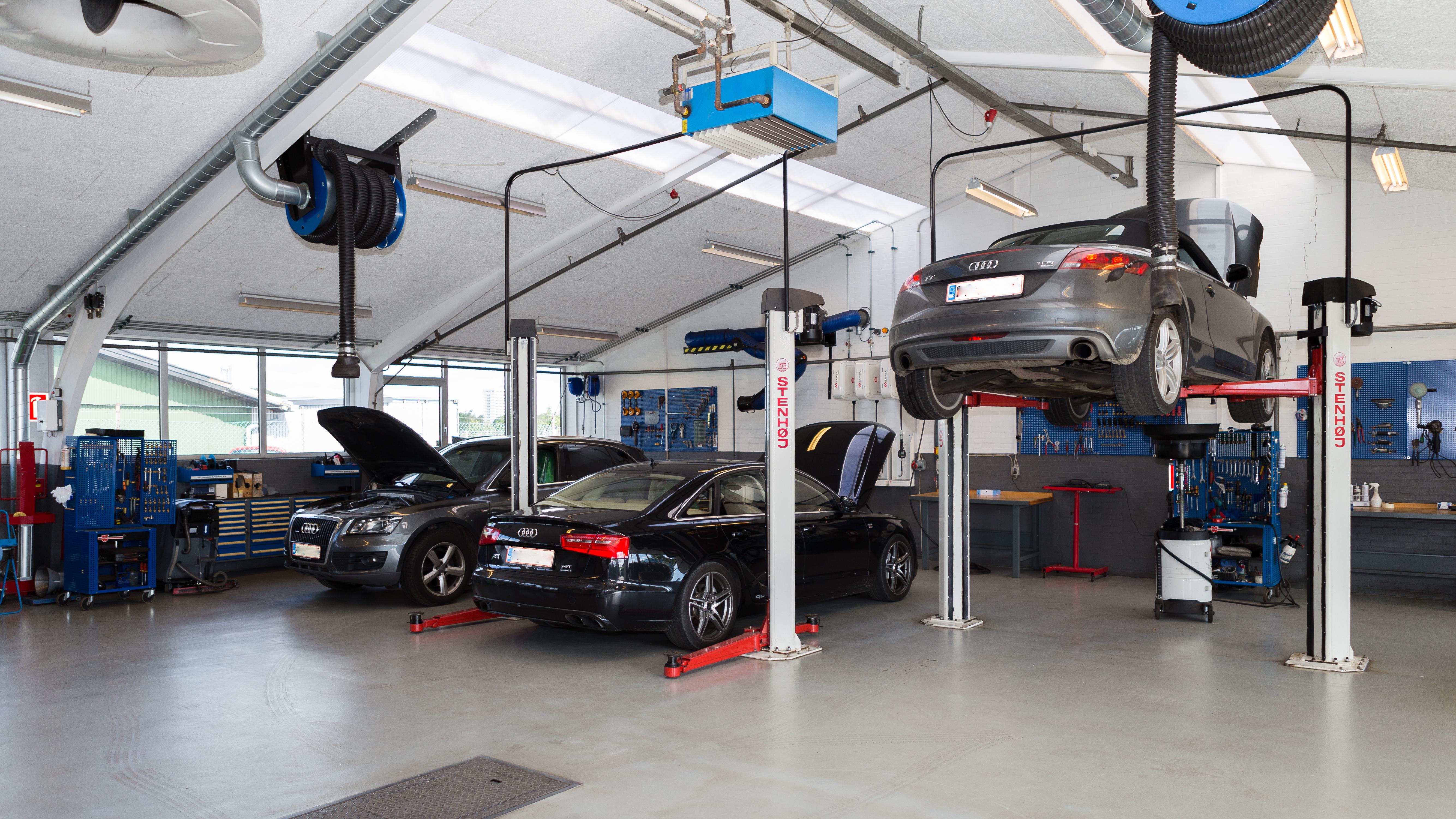 Vi er ikke bange for at sige – bare bedre bilværksted! autoreparationer