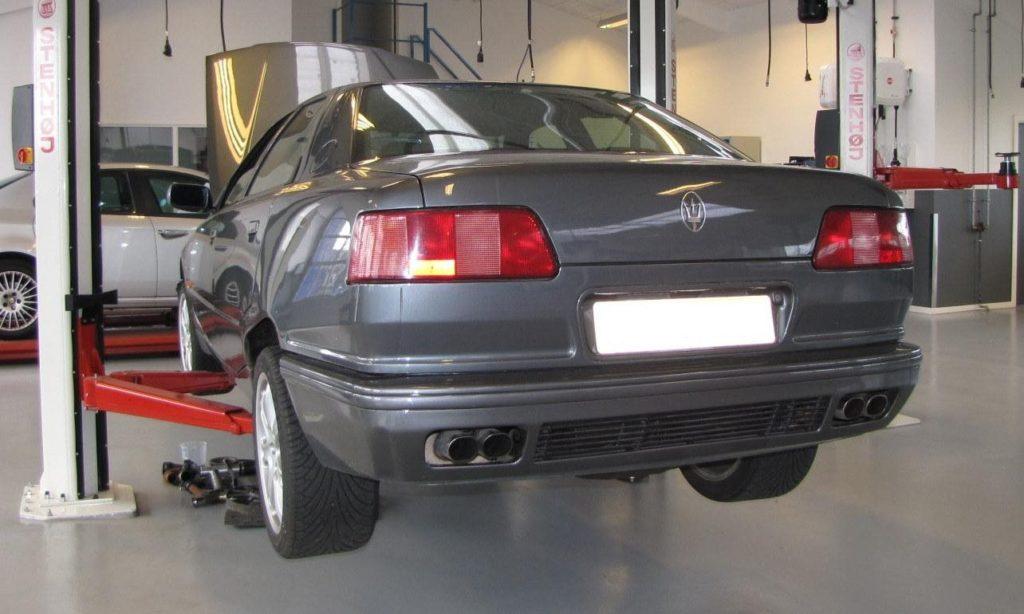 Autoværksted for Maserati i Aalborg