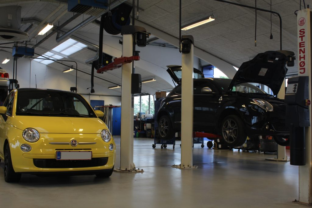 Autoværksted for Fiat i Aalborg